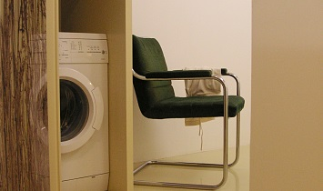 Each Design holiday apartment has a washing machine