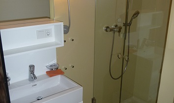 Each bedroom has its own bathroom with shower or bath, wash basin and toilet